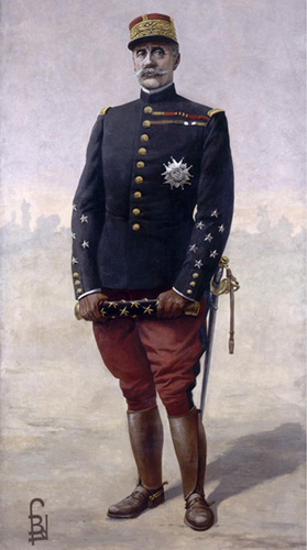 Marshal Foch by Louis Bombled, 1920